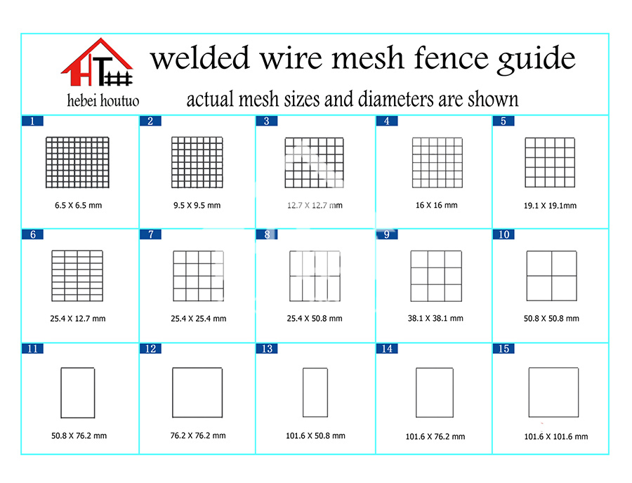 Welded Wire Fence -Residential