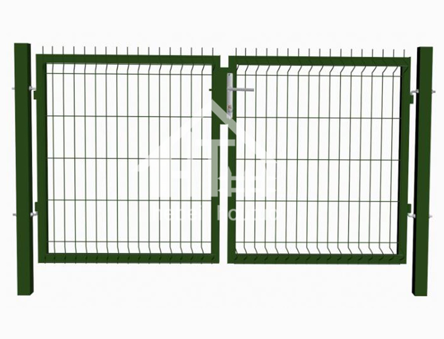 Square Post ( Mesh Infill 3D) -Security Fence Steel Morden Design
