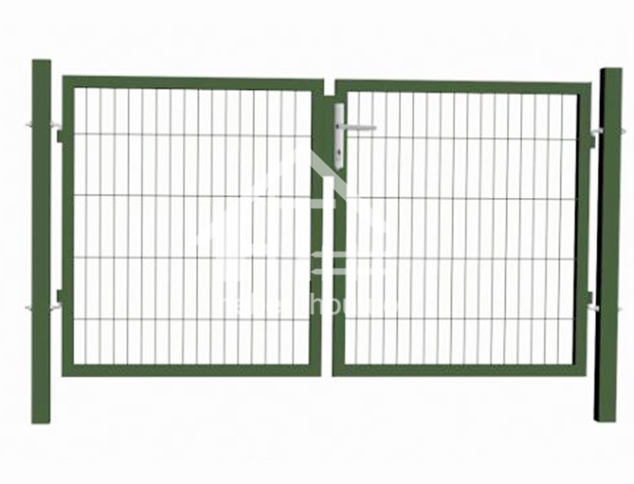 Square Post (Mesh Infill 50x200mm) -High Quality Entry Door