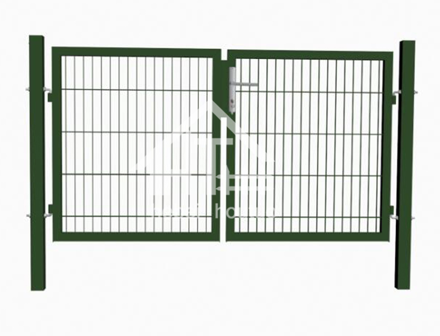 Square Post ( Mesh Infill Doubel Wire) -Garden Zone Metal Post