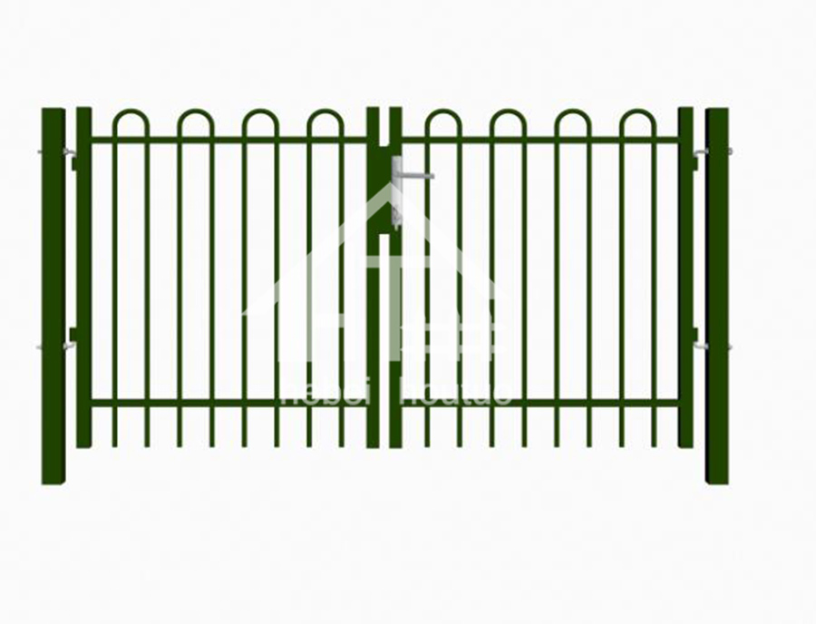 Deco Gate -Ecnomic Feild Powder Coated