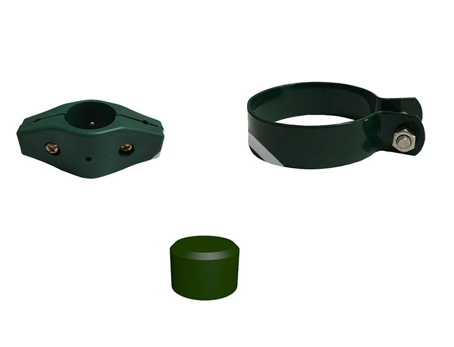 Fitting of Round Post -Plastic Iron Clamp Clip Accessories