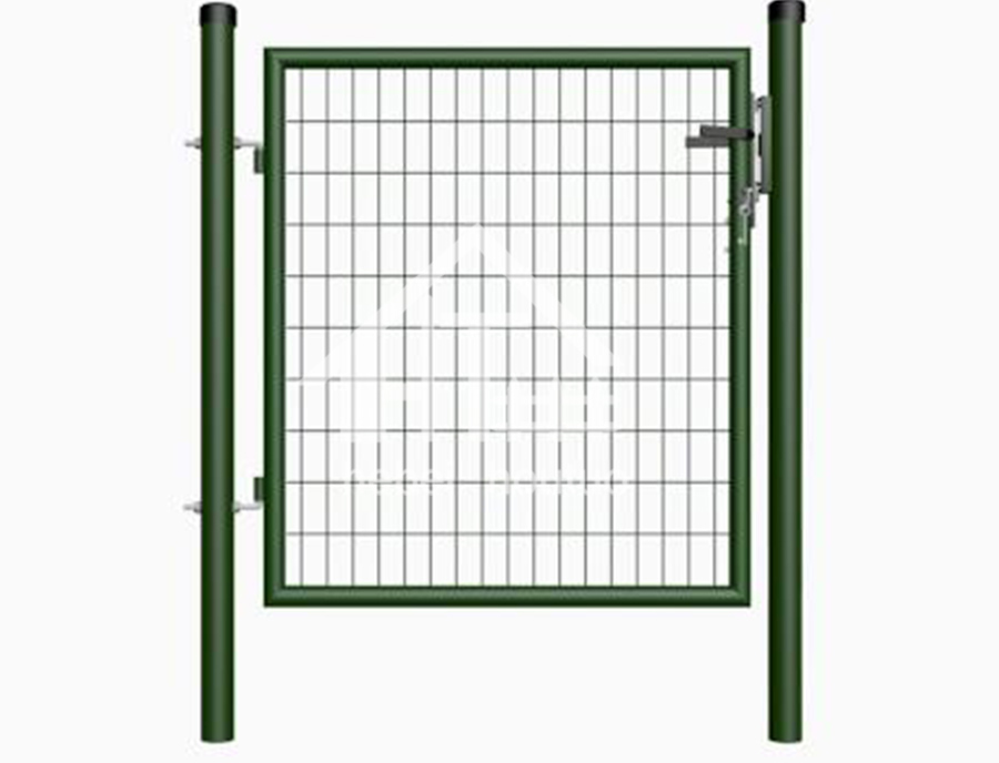 Round Post (Mesh Infill 50x100) -Factory Direct Square Post Single Villa