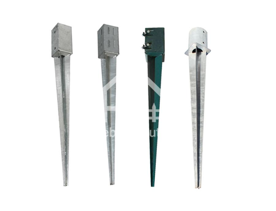 Pole Anchor Pointed -Manufacturer with High Quality