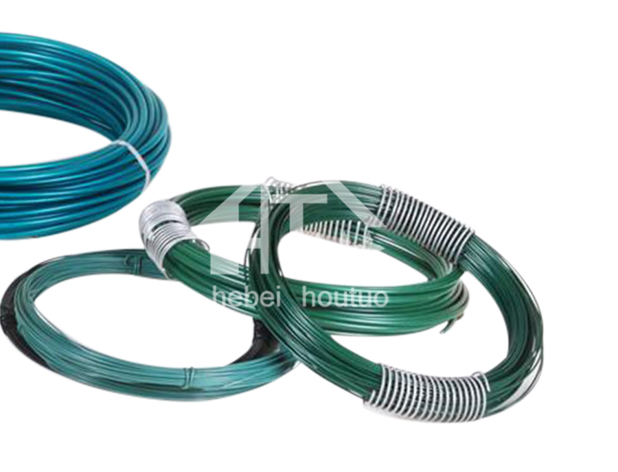 Small Coil PVC-Coated Galvanized Wire